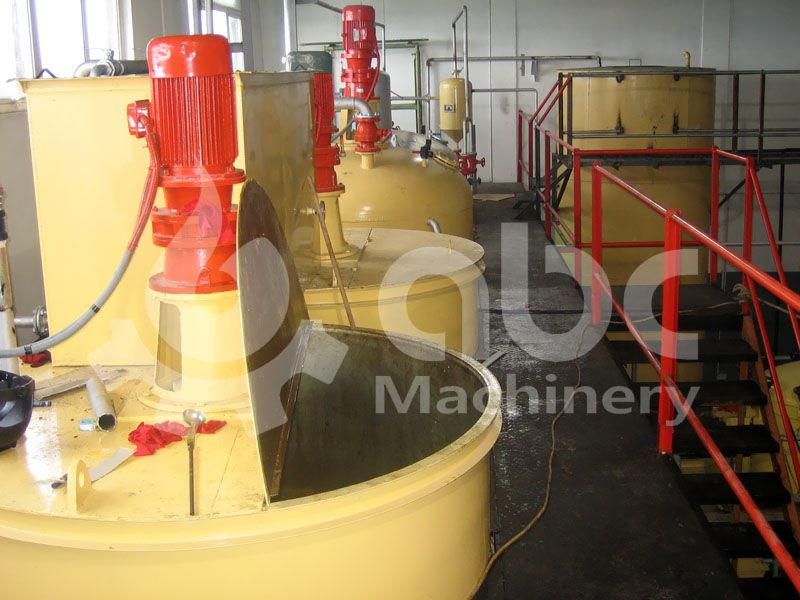 soyabean oil refining pot