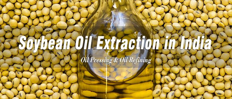 soybean oil extraction industry in India
