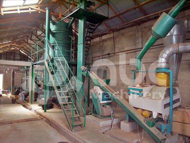 5TPD Small Scale Plant of Soyabean Oil Refinery in Ghana