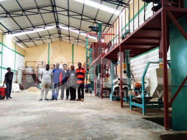 10TPD Soya / Peanut Oil Producing Plant in Togo