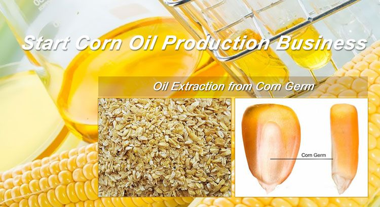 start corn oil production business