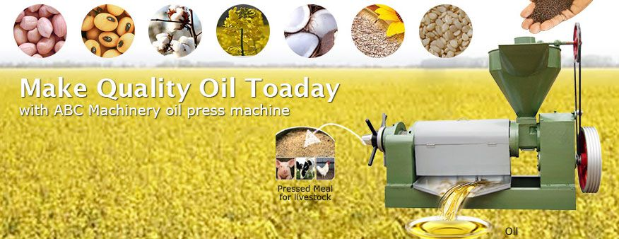sunflower oil machinery for small scale vegetable oil production