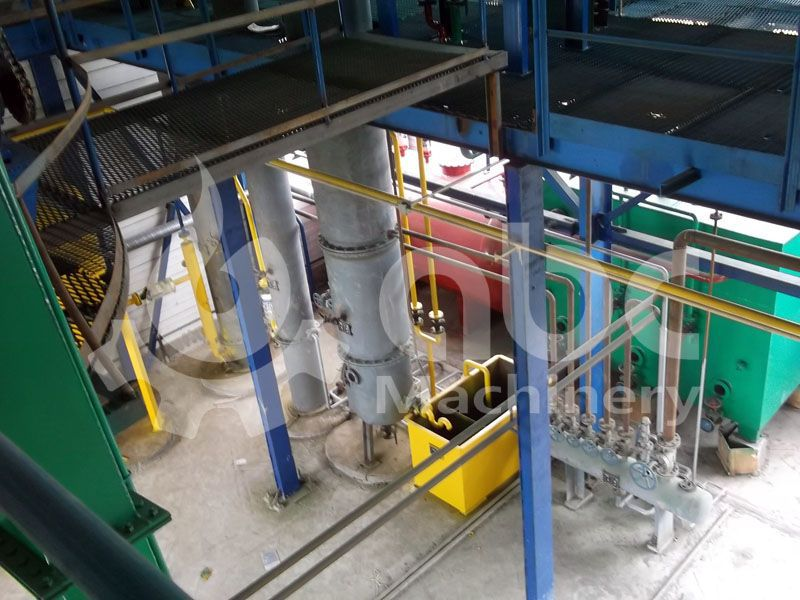 sunflower oil producing line for 150 tons per day production
