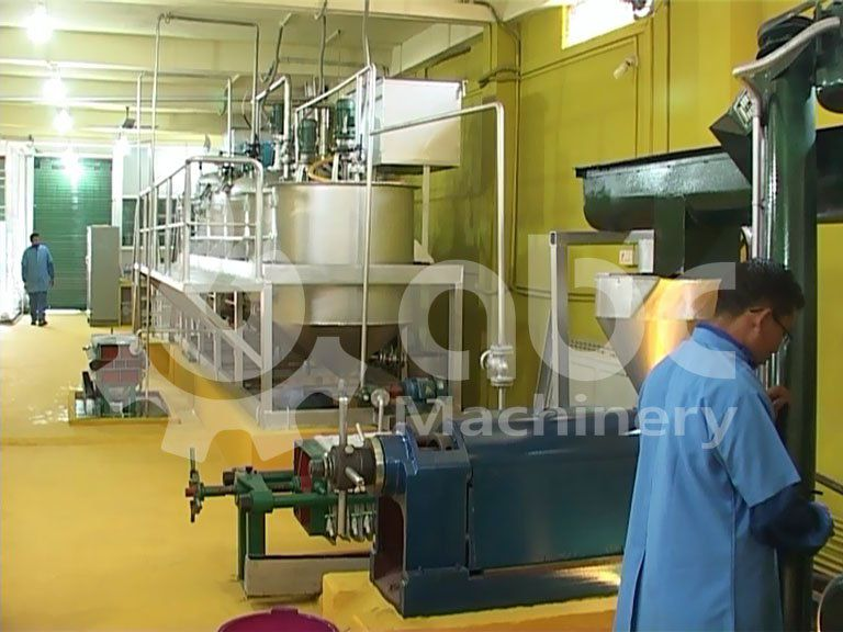 test run of the mustard oil plant `for mini and small scale production