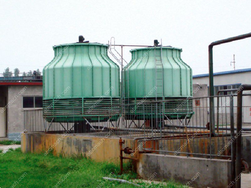 The Outside Cooling Tower