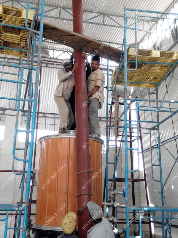 Thermal Oil Furnace Installing