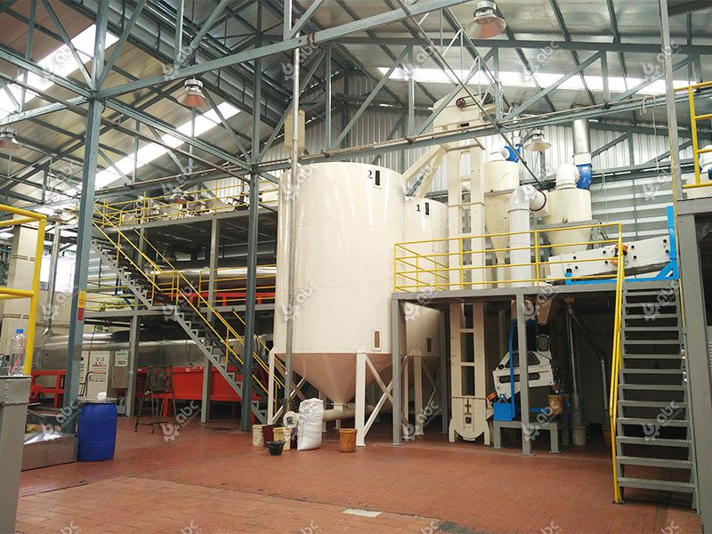 toasted sesame oil production plant
