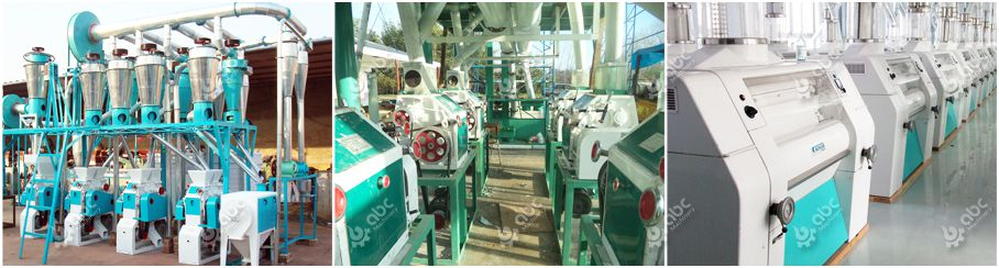 wheat flour mill complete production line for sale