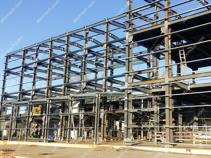 steel framed structure