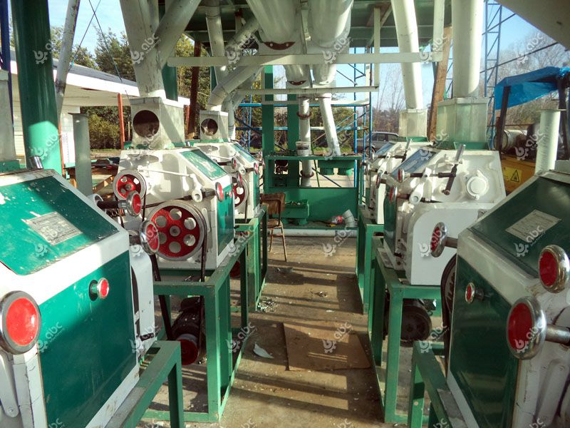 roller mill, wheat milling machine of the small plant