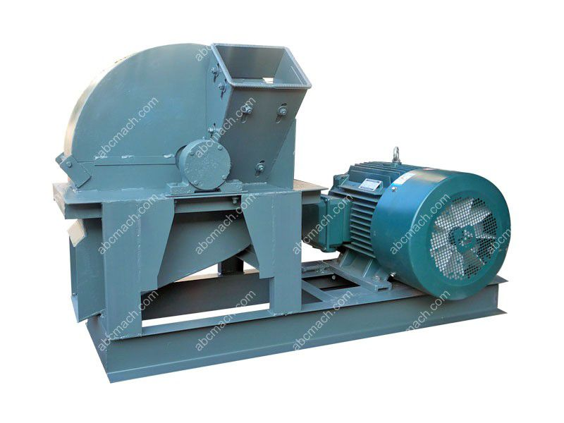wood crushing shredding machine