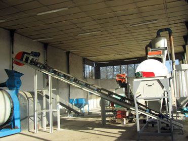 1TPH Wood Pellet Manufacturing Equipment in Bulgaria