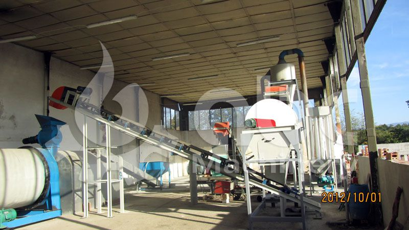 wood pellet manufacturing equipment for small to medium pellets production