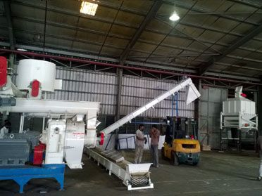 3TPH Wood Pellet Plant in Malaysia