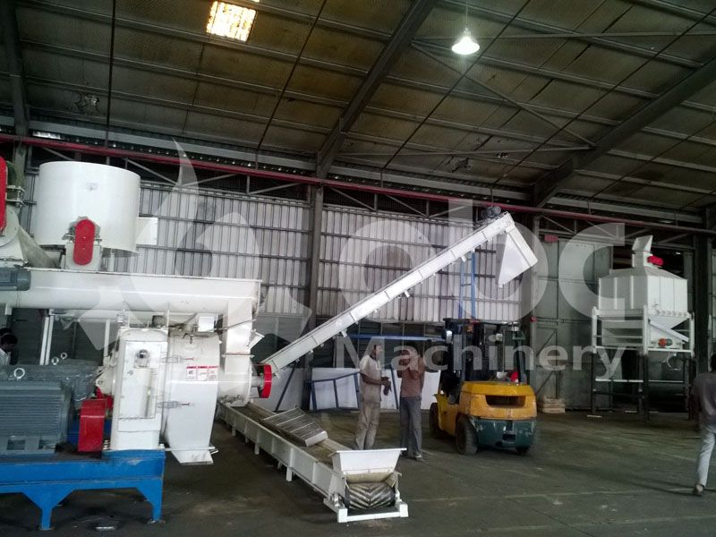 wood pellet plant business plan for industrial production line