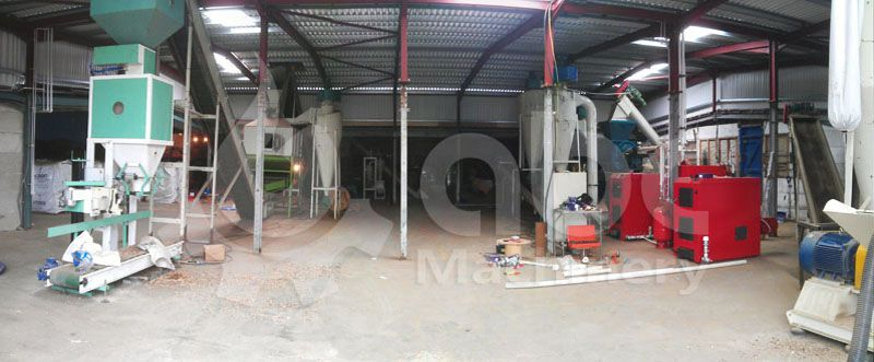 wood pellet production equipment for small business plan