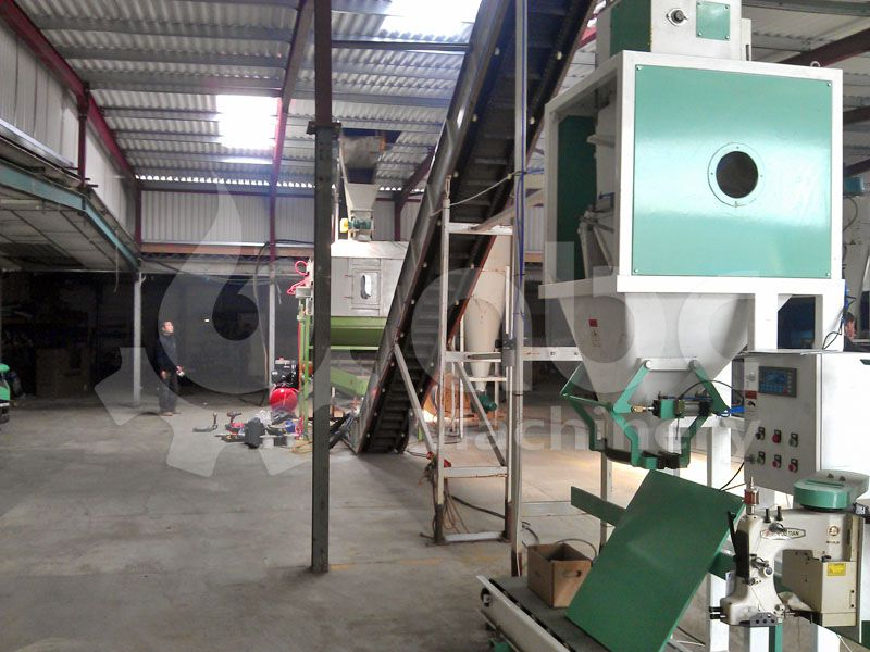 wood pellets bagging equipment for complete pelletizing line