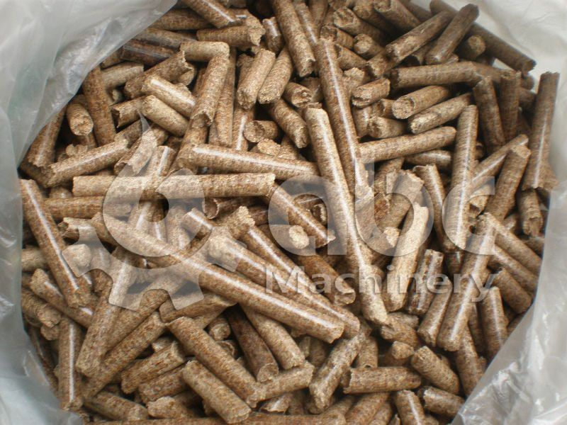 wood pellets manufactured