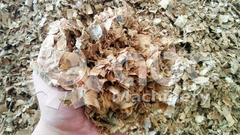 wood shavings for palletizing production