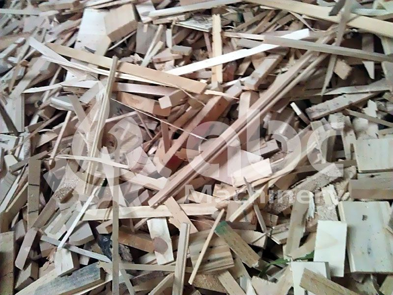 wood wastes, wood blocks, wood splint for pelletizing process